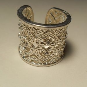 Wide Big Chunky Sterling Silver Ring, thumb ring